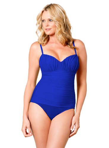 Miraclesuit DD Cup Solid Rialto Blue 18DD