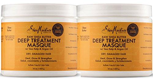 Shea Moisture Raw Shea Butter Deep Treatment Masque, 12 Ounce (Best Drugstore Hair Deep Conditioner)