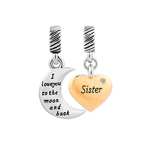 charm pandora sister