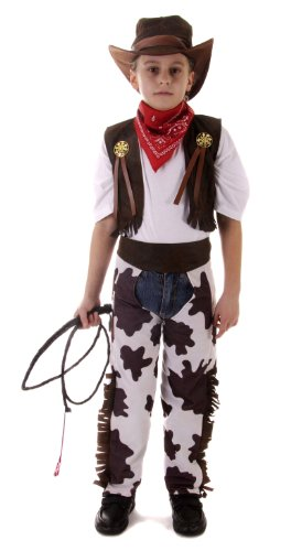 BOYS COWBOY OUTFIT AGE 7-9 (Cowboy Outfit Kids)