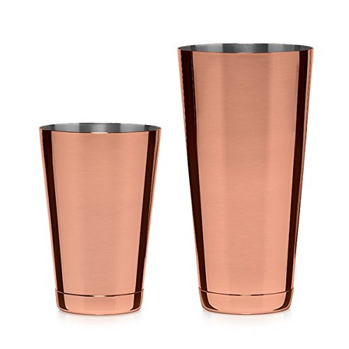 Cocktail Kingdom Koriko Weighted Shaking Tin Set - Copper-Plated