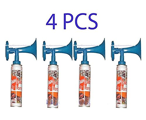 4X High Tone Aerosol Air Horn Sport Party Graduate Safety Very Loud Noise Maker by Unknown