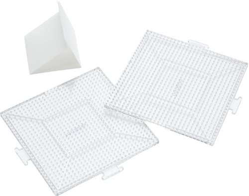 Perler Replacement Pegboards, Large Clear Square 1 pcs sku# 927961MA