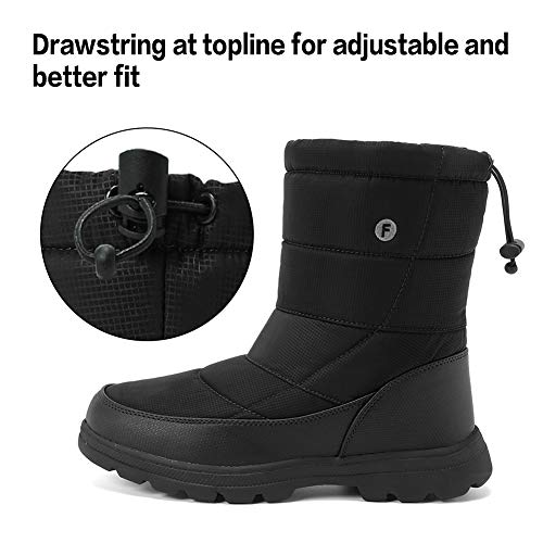 Pictures of Men and Women's Waterproof Snow Boot U118WXZ030 7