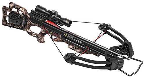 TenPoint Shadow Ultra Lite Crossbow Package with ACU Draw 50/Scope/Arrows & Quiver,...