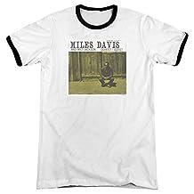 Miles Davis - Mens Miles And Milt Ringer T-Shirt
