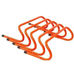 """Trademark Innovations 6"""" Speed Training Hurdles Pack of 5"""