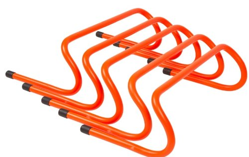 "6"" Speed Training Hurdles Pack of 5 By Trademark Innovations"