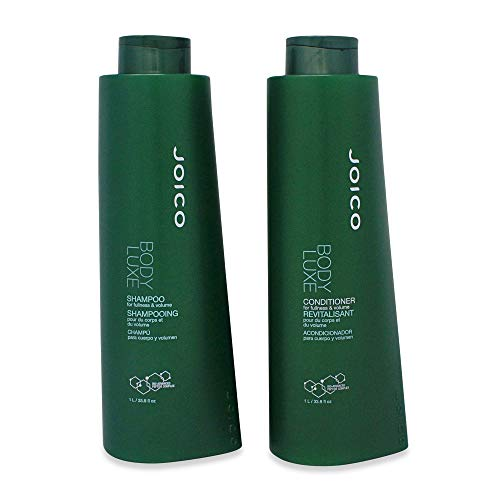 - Joico Body Luxe Thickening Shampoo and Conditioner Liter Duo