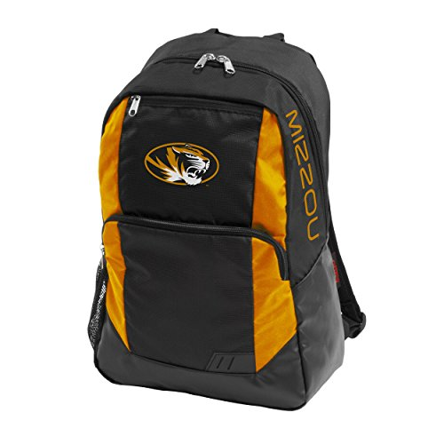 NCAA Missouri Tigers Adult Closer Backpack, Black