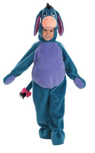 1f1818b64132 Amazon.com  Eeyore Deluxe Plush Bodysuit Toddler Halloween Costume Size  3T-4T  Clothing