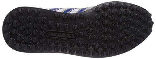 adidas LA Trainer Unisex-Erwachsene Sneakers Grau (Lgh Solid Grey/Collegiate Royal/Ftwr White)