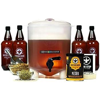 Amazon.com: BrewDemon Craft - Kit de elaboración de cerveza ...