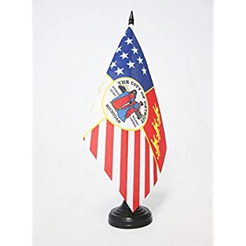 "Lot of 6 PUERTO RICO /""BORI/"" Wood Stick Flag 12/"" X 18/"" Stick is 24.75/"" Long"