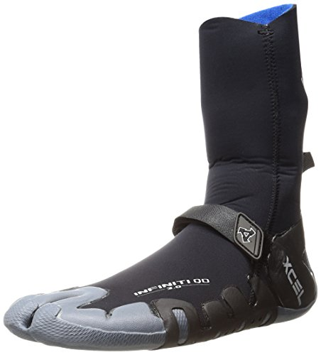 Xcel Wetsuits 3mm Infiniti Split Toe, Black/Grey, 9