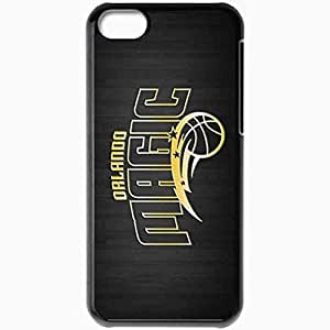 Personalized Case For Iphone 5C Cover Cell phone Skin 14846 orlando magic1 sm Black