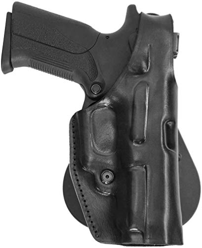 Walther PPQ M2 Holster - Leather Paddle Holster w Thumb Break - Old-World Craftsmanship (184) ()