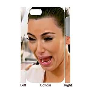 D-PAFD Diy hard Case kim kardashian customized 3D case For Iphone 4/4s
