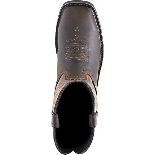 Wolverine Men's Rancher Wpf Soft Toe Wellington Work Boot,Dark Brown,9.5 2E US by Wolverine (Image #2)