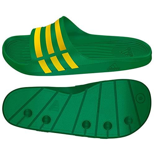 Spiaggia adidas Piscina da Slide PerformanceDuramo Green e Yellow Uomo Scarpe qBxUIB