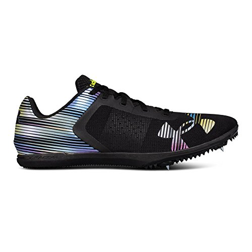 Under Armour UA Kick Distance Spike 9 Black (Best Track Shoes For Mid Distance)