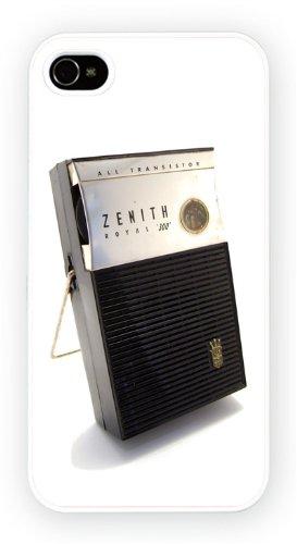 Vintage Transistor Radio, iPhone 4 4S, Etui de téléphone mobile - encre brillant impression