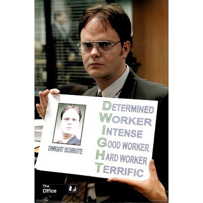 The office posters Threat Level Image Unavailable Image Not Available For Color The Office Poster Amazoncom Amazoncom The Office Poster Amazing Shot Of Dwight Rare Hot New