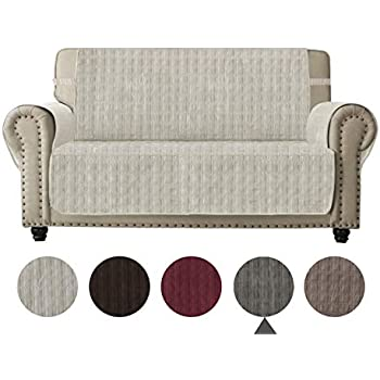Amazon Com Ameritex Sofa Cover Slip Resistant Loveseat