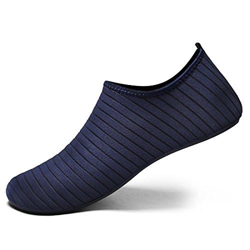 Laiwodun Piscine Rochers 8 Plage Bleu Chaussons Chaussures Aquatiques Sécurité De D'eau Et rqwrxISC7