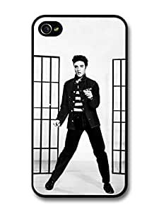 Elvis Presley Jailhouse Rock King of Rock & Roll case for iPhone 4 4S A506