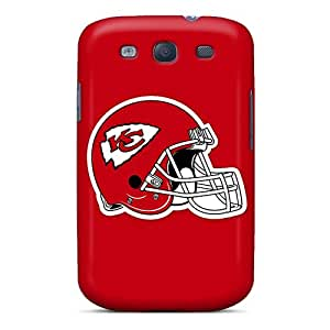 ErleneRobinson Samsung Galaxy S3 Perfect Hard Cell-phone Cases Customized High Resolution Kansas City Chiefs Pictures [tqj4555SOtL]