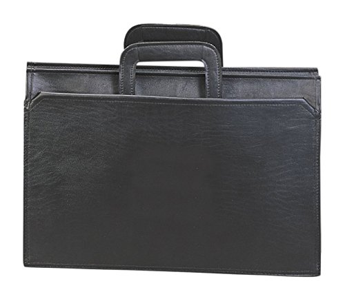 Preferred Nation Handle Portfolio Briefcase, Black
