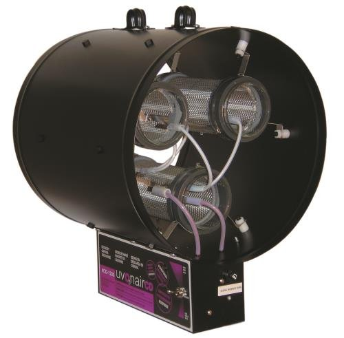 """Uvonair 3 Cell CD Inline Duct Ozonator, 12"""""""