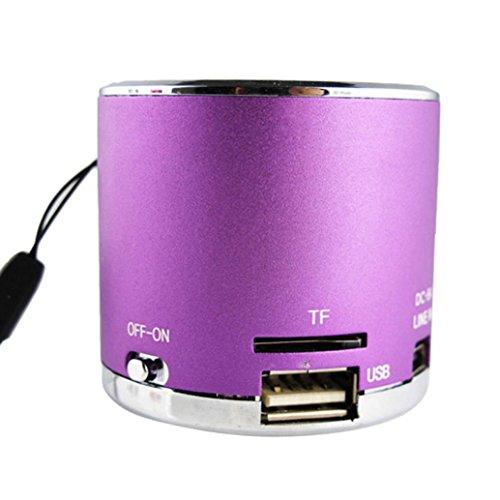 Bluetooth Speaker, ZYooh Mini Speaker FM Radio USB Micro SD TF Card MP3 Player Wireless Portable wireless speaker wireless bluetooth speaker stereo speaker (Subwoofer Security Console)