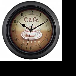 Equity by La Crosse 404-2623 11.75 Latte Color Cafe Clock