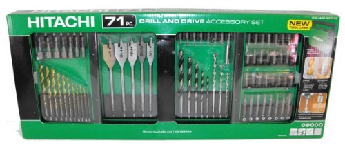 Hitachi 728704 Quick Change 71-Piece Drilling and Driving Set  (Discontinued by Manufacturer)
