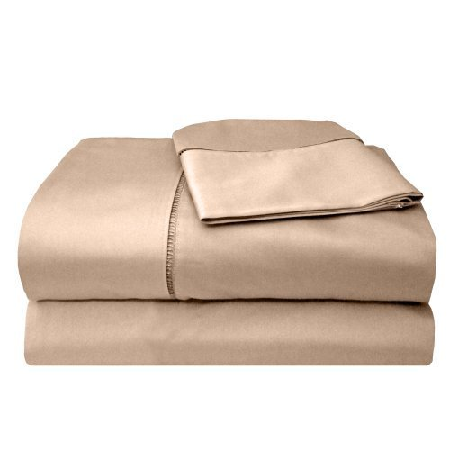 MADE IN THE USA 300TC 100% Cotton Sateen Legacy Sheet Set Queen, Taupe By Veratex by ''Veratex, Inc., us kitchen, VERLQ'' by Veratex, Inc., us kitchen, VERLQ