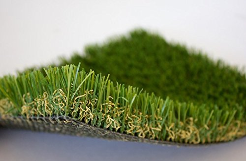 125-ANTIMICROBIAL-PET-Grass-Turf-100-Oz-Outdoor-or-Indoor-Two-Toned-Perforated-Backing-and-NO-Infill-Needed-Yards-Dog-Runs-Kennels-Condominiums-More-7x15