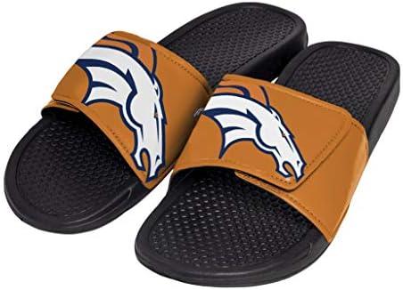 Big Logo Slide Flip Flops Sandals FOCO NFL Unisex