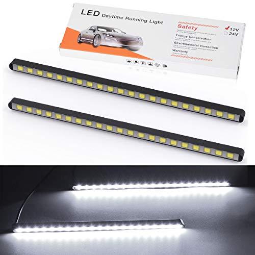 Super Bright Cob White Led Lights For Drl