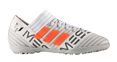 (adidas Boys' Nemeziz Messi Tango 17.3 TF J Soccer Shoe, White/Solar Orange/Black, 5.5 Medium US Little Kid)