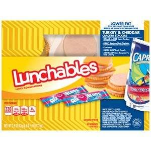OSCAR MAYER LUNCHABLES TURKEY & CHEDDAR CHEESE PACK OF 3 by Oscar Mayer (Image #1)