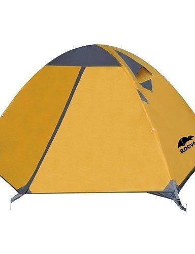 ZQ Rocvan 3 Season A091 2 Person Double Layer Tear Resistant Aluminum Camping Tent