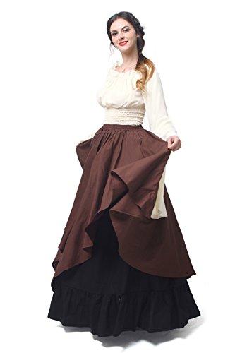 Mittelalterliche ni Maxi Gc229a Langarm Königin Kleid Kostüm Damen Party Kleid Nuoqi vqRwp5xfp
