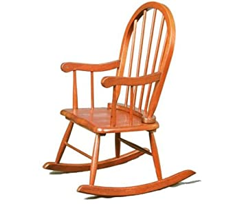 Stork Craft Childu0027s Rocker, Cognac
