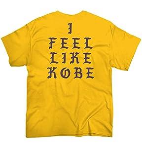 Brisco Brands Kanye I Feel Like Kobe Bryant Shirt | Mamba Day Bryant Lakers T-Shirt Tee