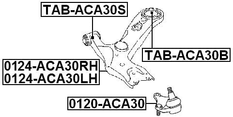 For Toyota for Front Arm Febest Rear Arm Bushing 4865528030