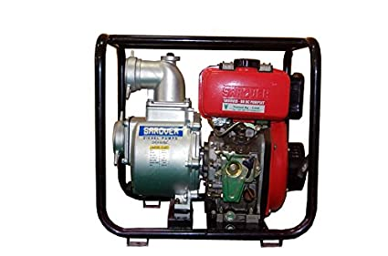 Sarover Portable Diesel Engine Water Pump Set 80c 44 Hp 3x3