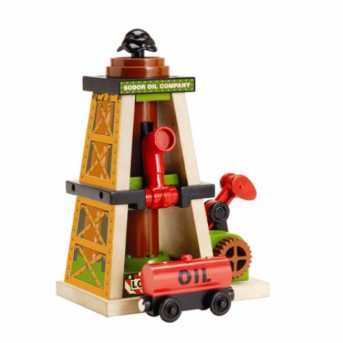 Thomas & Friends Wooden Railway - Oil Derrick by Learning -