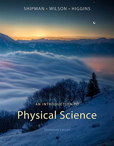 Lab Guide for Shipman/Wilson/Higgins' An Introduction to Physical Science, 13th